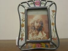Hand Crafted Leaded Square Glass Frame Item # 39735