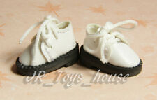 White Shoes D30 fits Lati Yellow blythe barbie momoko