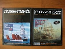 Lot Magazines Chasse-Marée + Pays de Bretagne