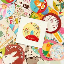 1 small box 38 PCS animals diary stationery decoration envelope sealing sticker