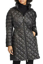 RRP £215 - RALPH LAUREN COAT Black Packable Down Quilted Parka M / UK 12-14 NEW