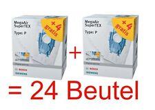 Siemens Bosch 24 Staubsaugerbeutel Typ P VZ123FP BBZ123FP Staubbeutel BSG8 VS08