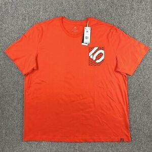 NWT Adidas 2XL XXL Short Sleeve Polka Dot Pocket T Shirt Recycled Cotton Blend