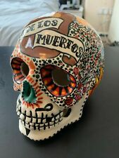 Mexican Handmade Candle Holder DIAS DE LOS MUERTOS