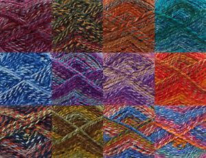 100g Ball Corona Chunky Yarn & Free Knitting Pattern King Cole Wool 1 3 6 or 12