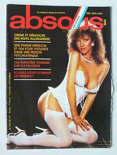 MAGAZINE ABSOUS / ABSOLU N° 58 - MAI 1984 *
