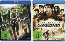 Maze Runner - Teil 1+2 Blu-ray Set - NEU OVP