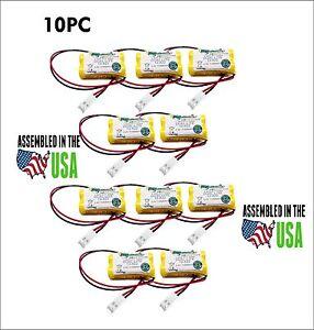 10PCS Dual-Lite 12-822,012-0822,12-822E REPLACEMENT Battery