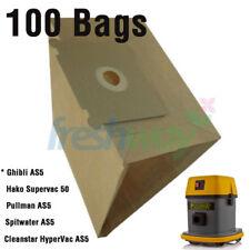 Ghibli AS5, Hako Supervac 50, Spitwater AS5 vacuum Paper Bag, VP1000 -100 Pk