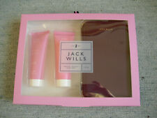 New Jack Wills Womens Travel wallet gift set Five Body Wash+lotion Xmas Her Lady