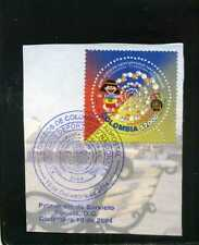 marcofilia>> ''17th NATIONAL GAMES-CUNDINAMARCA  COLOMBIA  2004