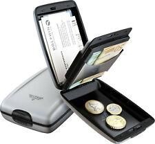 Tru Virtu SILK Portemonnaie RFID-Schutz + Kreditkarten-Etui Aluminium Silver