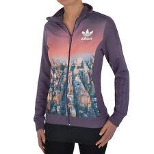 adidas Originals Womens NYC Print Firebird Track Top Tracksuit Jacket � B Grade