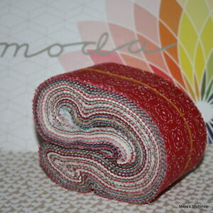 "Moda Scrap Bag Mixed collections and designers 2½"" x 44"" strips 100% cotton"