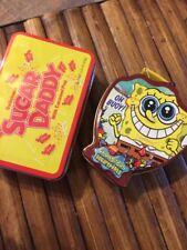 Mini lunchbox Sugar Daddy and Small Tin Sponge Bob