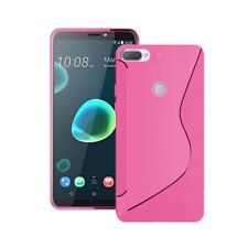 HTC Desire 12 Plus S-Line Silicone Gel In Various Colour Cover Case