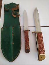 Hunting Knife made in GDR 1960 German democratic republic vintage vintage  rare