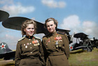 WW2 WWII Photo Russian Air Force Female Pilots Night Witches World War Two /1732