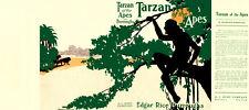 Burroughs, Edgar Rice. TARZAN OF THE APES facsimile dust jacket  1st Burt Co Ed.