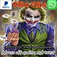Zynga Poker Chips 100.000.000.000 B NO BAN!