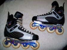 Ccm Externo Bandit Inline Roller Hockey Skates Mens Sz 10-10-1/2,43 Euro Nice
