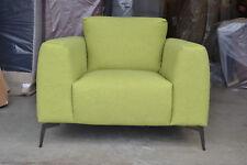 Flaire / Franco / Flavia Armchair Soft Feel Shetland Green Fabric RRP £899