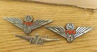 TWA Jr Pilot Wings Stoffel Seals Pins & American Airlines Wings Qty of 3 Vintage