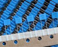 50Pcs Mkt Boxed Capacitor 0.1UF 100N 100V J ±5% B32529C Metallized Polyester cb