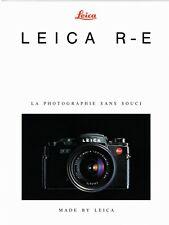 LEICA _ R-E _ Présentation sommaire de 1991