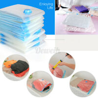 Vacuum Sealer Bags Clothes Storage Space Saver Sealing Compresssing 3 Sizes t