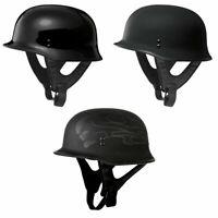 Fly Racing 9mm Black DOT Motorcycle Half Helmet