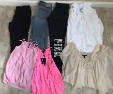 Womens 7 Pc Name Brand Clothes Lot Sz XS. Victorias Secret, Express, &denim H&M
