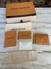 Louis Vuitton Box Set for sunglasses, cell phone, glasses. Case & cloth