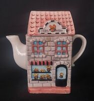 Bakery - Teapot - Collectable - 6 Inches Tall | FREE Delivery UK*