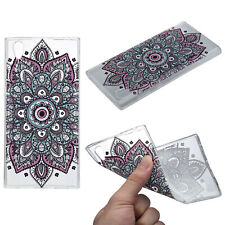 Sony Xperia XA1 Hülle Case Handy Cover Schutz Tasche Schutzhülle Henna Etui Bunt