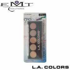L.A Colors 5 Color Metallic Eyeshadow - Tea Time 430 - Brand New - (LA Colours)