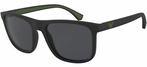 Emporio Armani EA 4129 Matte Black/Grey 56/19/142 men Sunglasses