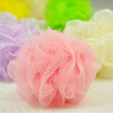 5Pcs Mini Bath/Shower Body Exfoliate Puff Sponge Mesh Net Ball Small Size 10cm