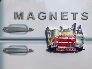 Birmingham Landmarks - 3D Souvenir Fridge Magnet