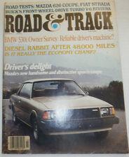 Road & Track Magazine BMW 530i & Diesel Rabbit March 1979 NO ML 122314R