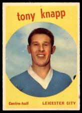 A&BC Footballers 1960 Black Back (B1) Tony Knapp Leicester City No. 7