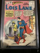 Superman's Girl Friend Lois Lane 25 9.2 CGC Cream to Off-White Pages.
