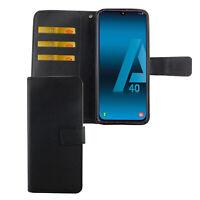 Samsung Galaxy A40 Étui Coque Téléphone Portable Protection Sac à Clapet
