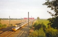 PHOTO  SESSAY RAILWAY STATION NORTH RIDING SITE 1993 NER YORK - NEWCASTLE - BERW