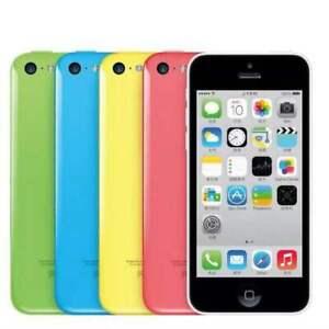 APPLE iPHONE 5C 8GB/16GB/32GB - Unlocked/ Blue ,White,Green,Yellow Phone