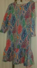 Lilly Pulitzer Let Minnow Rare Hard To Find  Girls Sz L 8-10  Dress  (H4)