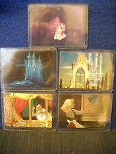 1995 SkyBox Disney's Cinderella DUFEX FOIL insert CARD Set