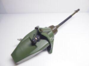 Mastkopf Scherer mit Antennenfuß FAF80  mit Tasche Antenne Sem Funk Bundeswehr
