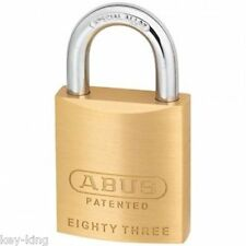 12 X Keyed Alike ABUS Padlocks 8345 Padlock. BULK Lot- Postage in Australia