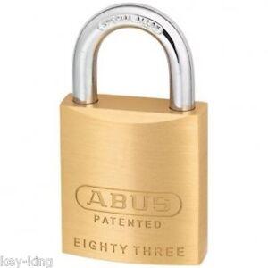 Keyed Alike ABUS Padlock 8345 Padlocks-Free Postage
